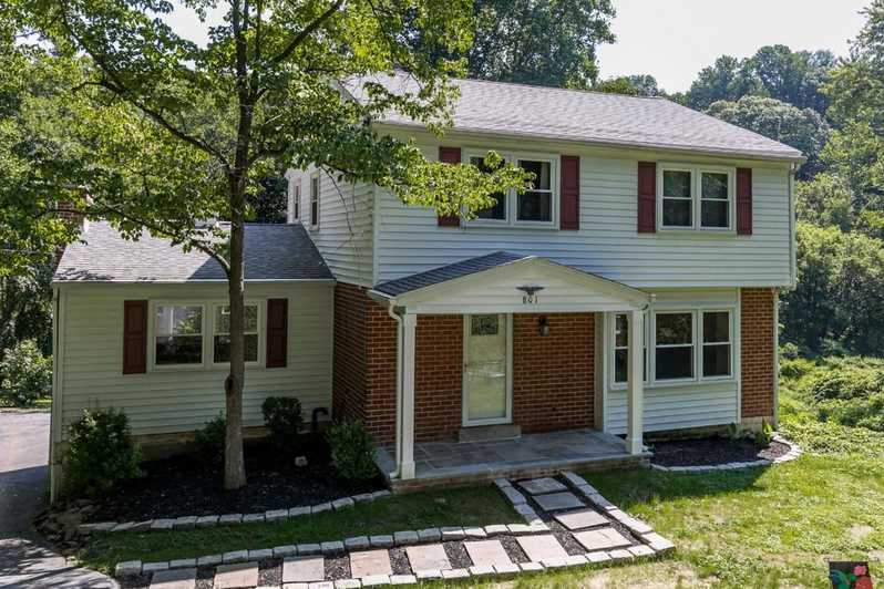 A home for sale at 801 Ridley Creek Dr Media, PA 19063 in Delaware County